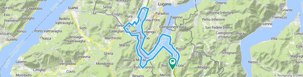 Giro breve del Lago di Lugano
