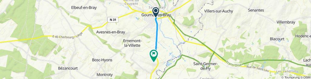 Steady ride in Ernemont-la-Villette