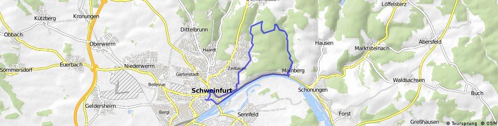 Singletrail schweinfurt