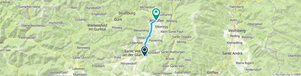 Gemütliche Route in Althofen