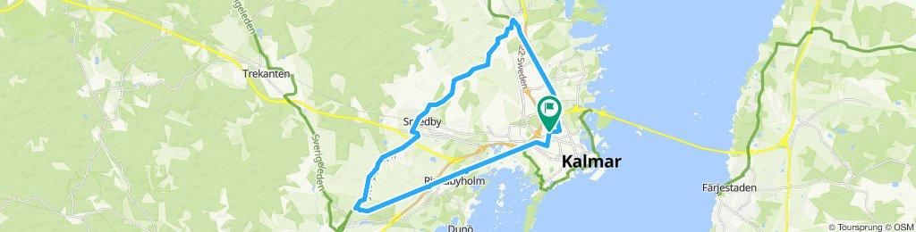 Moderate route in Kalmar