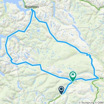Bøverdal-Åndalsnes-Geiranger-Bøverdal