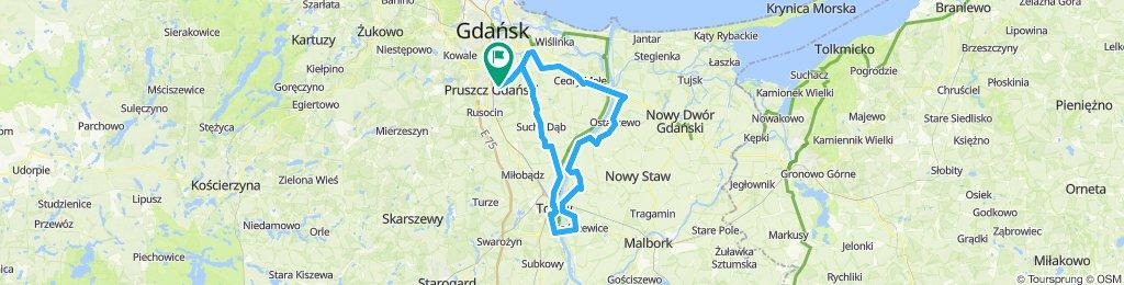 Pruszcz Gdański-Kiezmark-Ostaszewo-Tczew Pruszcz Gdański