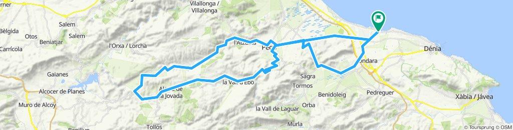 20190730 Vall de Gallinera Monte Pego