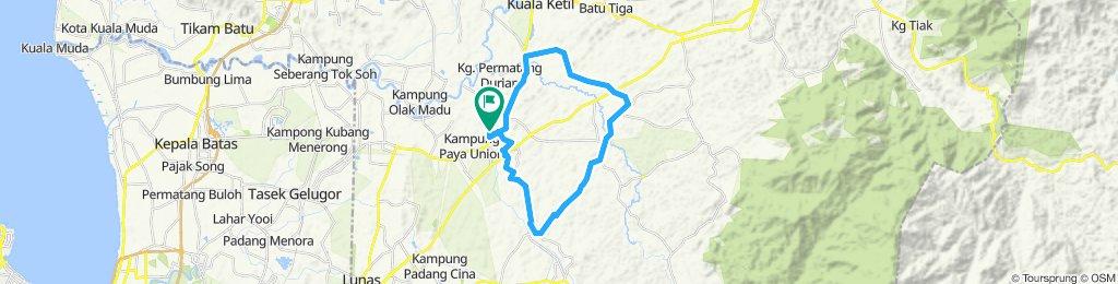 jelajah kampung smk sg karangan 2019