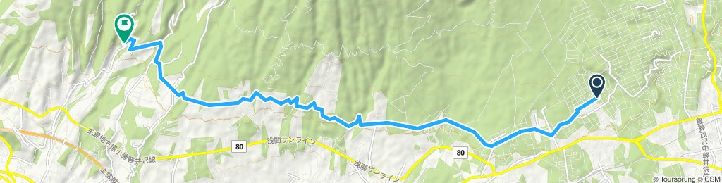 Slow ride in Komoro-Shi