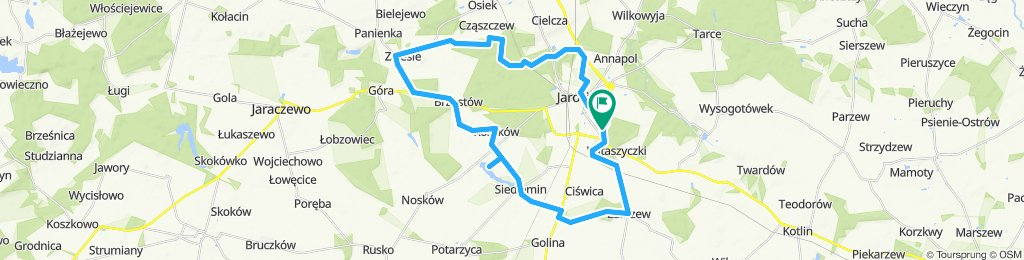 Trasa 40 km na wtorek