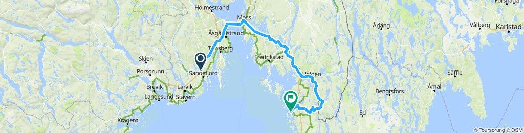 Tour de Strømstad - Via Iddefjorden