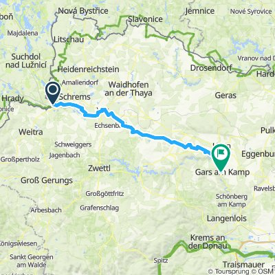 Prag-Wien Etappe 5