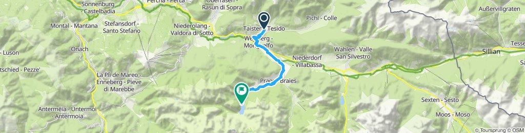 Route im Schneckentempo in Prags