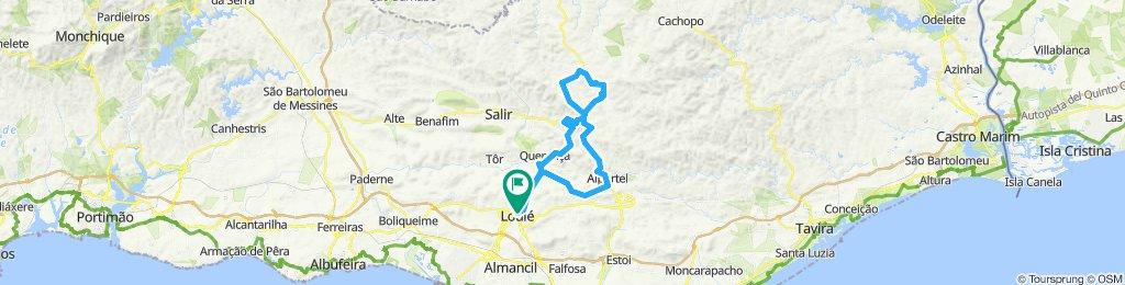 Loule Alportel Barranco Montes Novos Vale da Rosa Barranco Loule