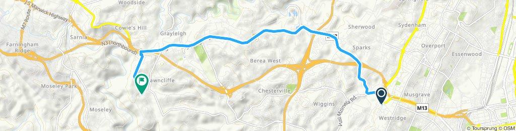 Easy ride in Westville