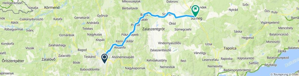 Zalaegerszeg - Sümeg