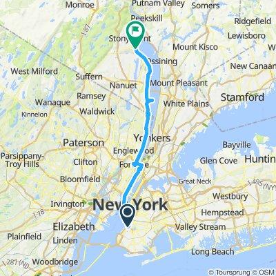 Day 1 - Brooklyn to Haverstraw
