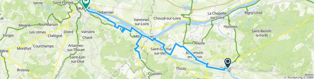Chinon - Saumur