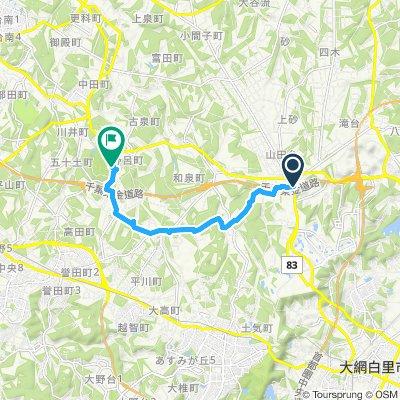 山田IC~泉自然公園