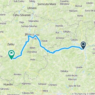 Traseul Dej-Cetatea Ciceului   Bikemap - Your bike routes