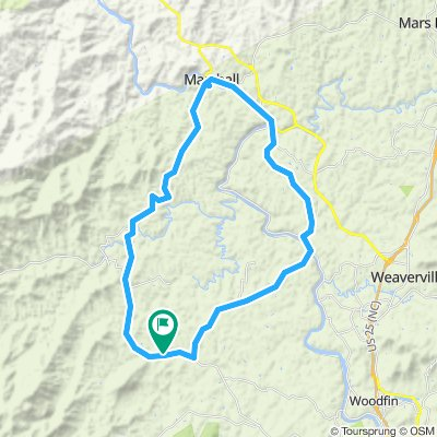 Leicester to Alexander to Marshall Loop