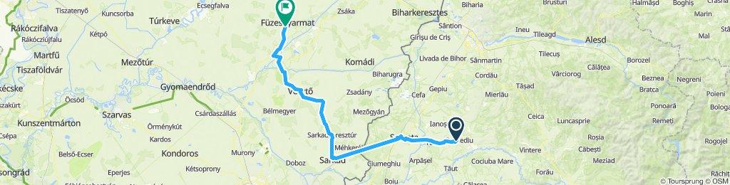 Gurbediu - Füzesgyarmat 21. Juli 2019