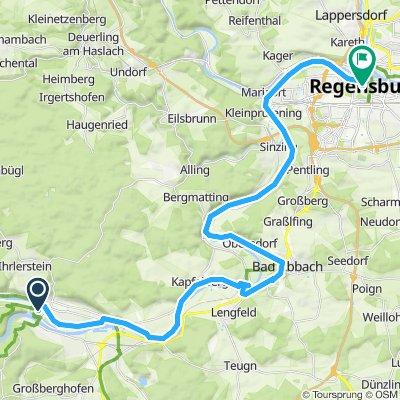 Fünf Flüsse Radtour Etappe 3
