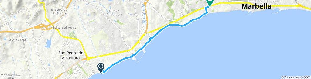 Easy ride in Marbella
