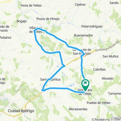 Ruta 1 Aldehuela de Y.