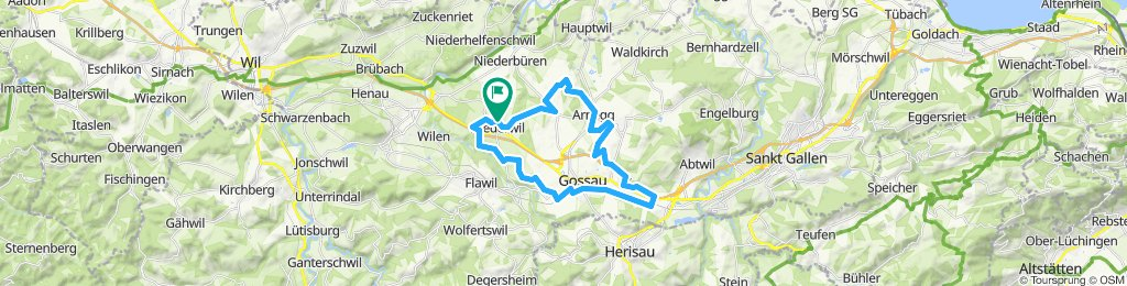 Gossau-Arnegg-Niederwil-M1