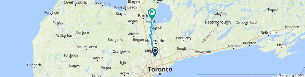 Ride to Innisfil