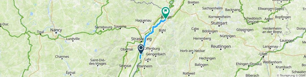 Schwanau - Raststatt