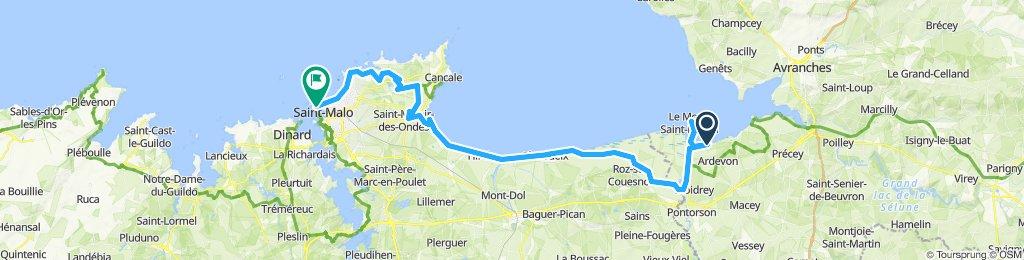 Mont ST Michel - St Malo