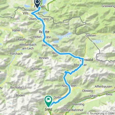 Tour1 Füssen-Imst