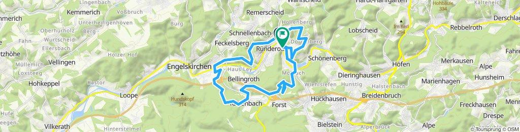 lockerer trail ründeroth und Engelskirchen