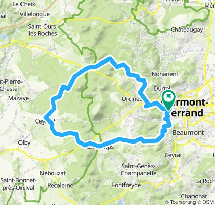 Col de la Moreno par Vulcania et Bellevue