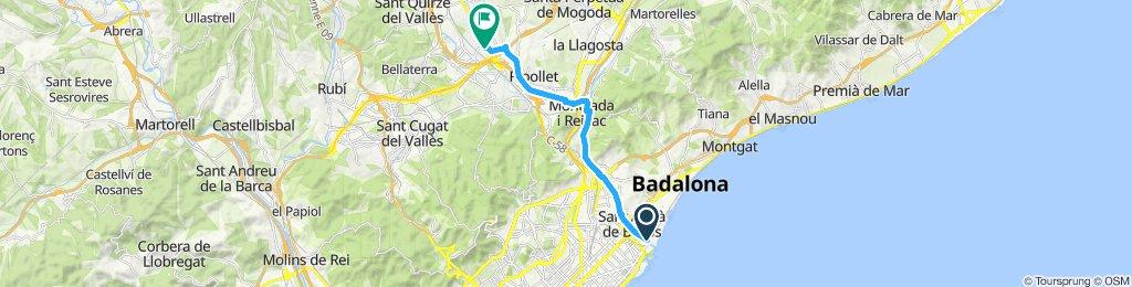 Paseo lento en Barberà del Vallès