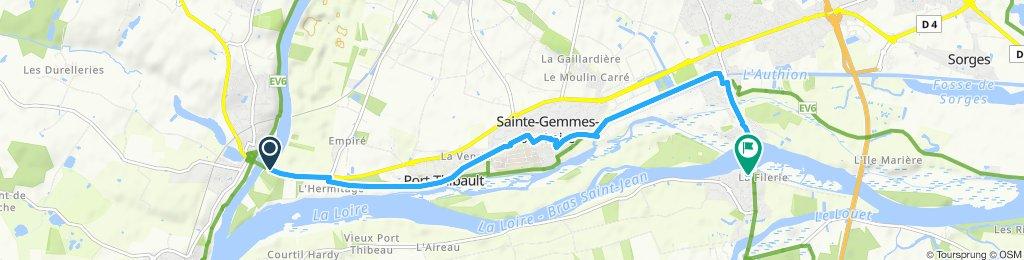 bouchemaine port Thibault saintes femmes ponts de cé