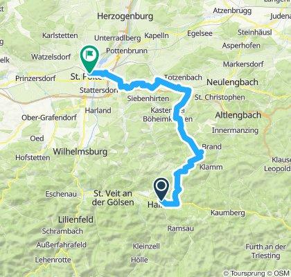 Hainfeld-Kasberg-Kirchstetten-St. Pölten