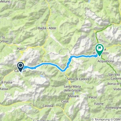 06-Canazei vers Cortina d'Ampezzo