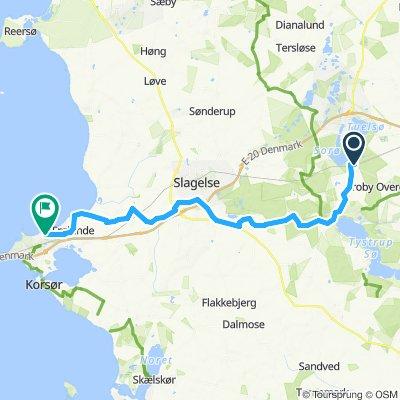 Moderate route in Svinninge