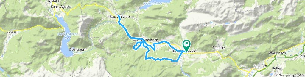 Bad Mitterndorf Ödensee route