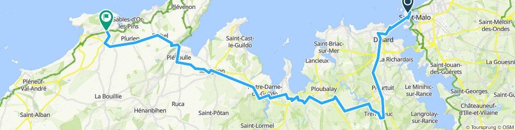 St Malo - Erquy