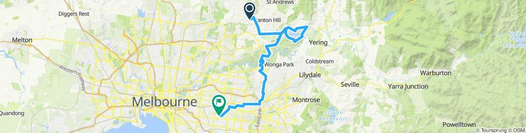 e-MTB Adventure Ride. Hurstbridge, Sugarloaf Reservoir, Warrandyte, Surrey Hills.