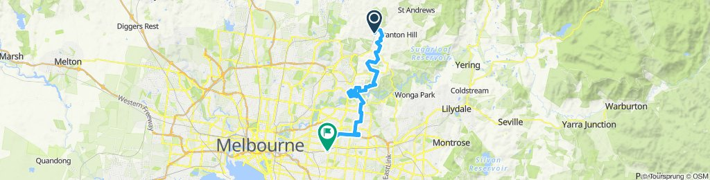 e-MTB Adventure Ride. Hurstbridge, Doncaster, Surrey Hills.