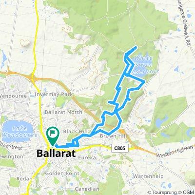 e-MTB Adventure Ride. Ballarat, Creswick.