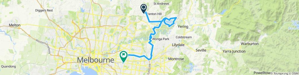 e-MTB Adventure Ride. Hurstbridge, Sugar Reservoir, Surrey Hills.