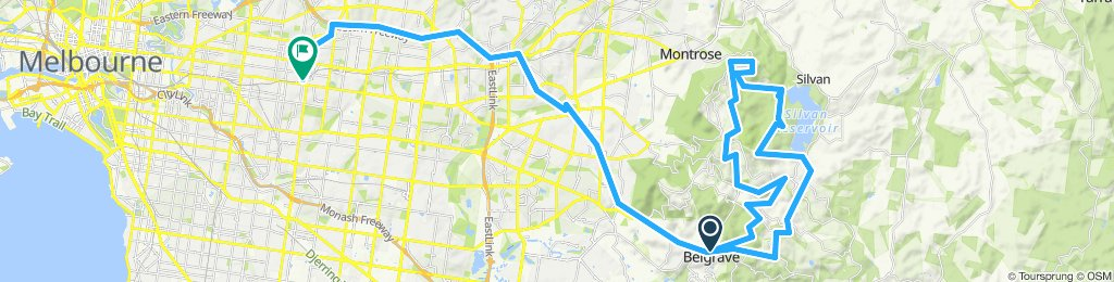 e-MTB Adventure Ride. Belgrave, Kalorama, Belgrave, Surrey Hills.