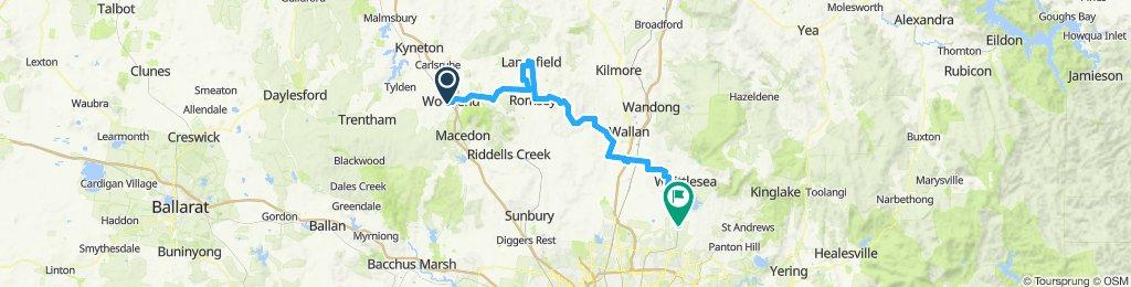 e-MTB Adventure Ride. Woodend, Lancefield, Romsey, Mernda.