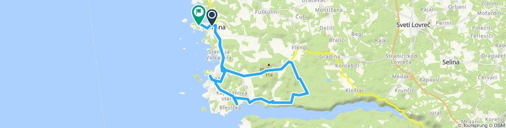 Gemütliche Route in Vrsar
