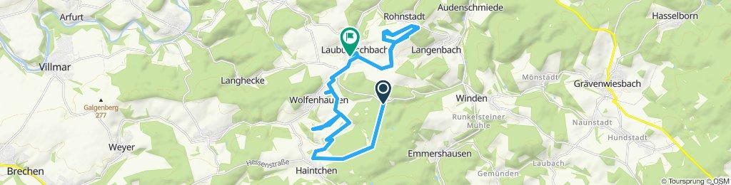 Gemütliche Route in Weilmünster