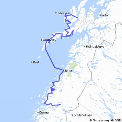 Die erste Tour 1997 / Teil 1 / Nordland