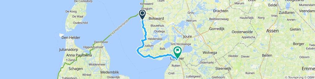 Ijsselmeer-Radtour-Etappe 5a
